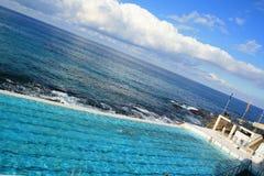 Seaside Pool Stock Photography