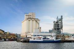 Seaside Port Royalty Free Stock Photo