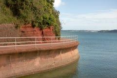 Seaside Promenade stock photos