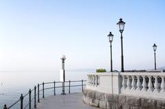 Seaside promenade Stock Photography