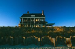 Seaside residence in East Hampton, NY, USA Stock Photography
