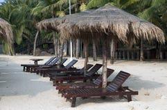 Seaside resort. China Hainan Sanya, a tropical beach style Royalty Free Stock Photography
