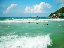 Seaside resort. At san-ya China photoed in july 2010 Stock Photo