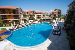 Seaside resort in Bulgaria Royalty Free Stock Photos