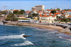 Seaside Resort of Estoril in Portugal Stock Photography