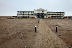 Seaside resort near Swakopmund, Namibia Stock Photography