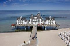 Seaside Resort Sellin Stock Image