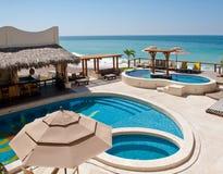 Free Seaside Resort Swimming Pools Stock Photos - 13509273