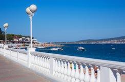 Seaside resort Stock Image