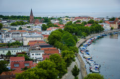 The seaside resort of Warnemunde, Germany Stock Image