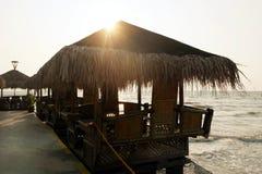 Seaside Restaurant Royalty Free Stock Photos