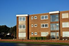 Seaside retirement flats Uk Stock Images