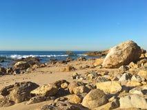Seaside rocks beach Stock Photography
