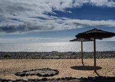 Seaside in San Miguel de Abona, Tenerife, Canary Islands in Spain. Europe stock image