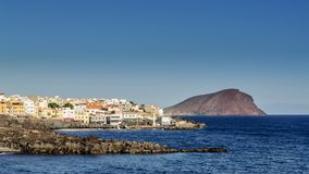 Seaside in San Miguel de Abona, Tenerife, Canary Islands in Spain. Europe stock photography