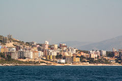 Seaside in Saranda, Albania Stock Photography
