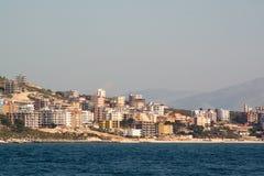 Seaside in Saranda, Albania. Seaside in the village of Saranda, Albania Stock Photography