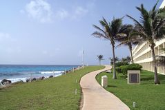 Seaside scene Royalty Free Stock Image