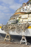 Seaside scene, Positano, Italy Royalty Free Stock Photography