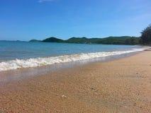 Seaside. Sea wave bluesky Stock Images