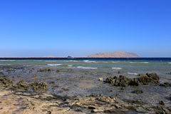 Seaside in Sharm El-Sheikh Royalty Free Stock Images