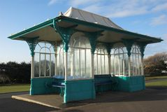 Seaside Shelter Royalty Free Stock Photo