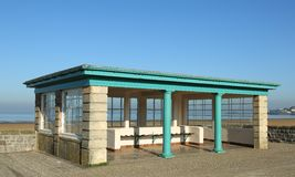 Seaside Shelter Stock Photo