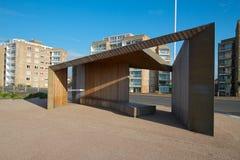 Seaside shelter Stock Image