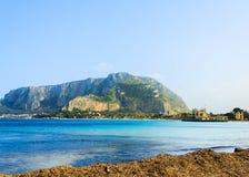 Seaside on Sicily island Stock Image