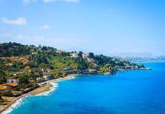 Seaside on Sicily island Royalty Free Stock Photography