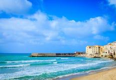 Seaside on Sicily island Royalty Free Stock Photos
