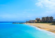 Seaside on Sicily island Royalty Free Stock Images