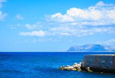 Seaside on Sicily island Stock Photos