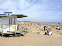 Seaside, Skegness, Lincolnshire. Royalty Free Stock Image
