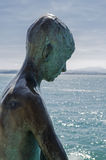 Seaside statue Royalty Free Stock Image