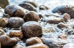 Seaside stones Stock Photography