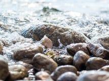 Seaside stones Stock Image