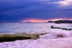Seaside storm Stock Photos