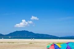 Seaside summer Stock Image