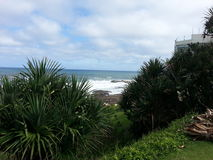 Seaside. Taken from the beach in KZN Stock Photography