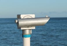 Seaside Telescope. Stock Photos