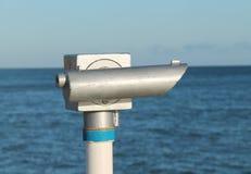 Seaside Telescope. Stock Photos