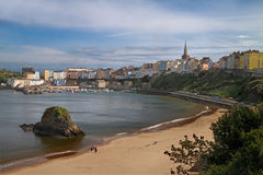 Seaside at Tenby. Tenby is an attractive seaside resort in South Wales, UK, with a harbour and two excellent beaches Stock Photos