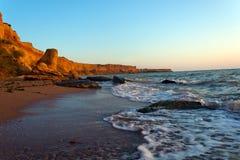 Seaside tide Stock Image