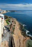 Seaside of Torrevieja city. Stock Photo