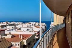 Seaside of Torrevieja resort city Royalty Free Stock Photos