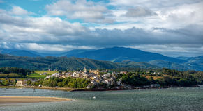 The seaside town of Castropol Royalty Free Stock Image