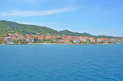 Seaside town in Croatia Stock Photos