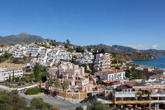 Seaside town of Nerja Royalty Free Stock Image