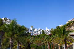 Seaside town of Nerja Royalty Free Stock Images